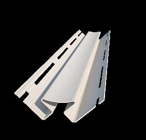 Угол внутренний белый - комплектующий аксессуар для фасадных панелей и сайдинга