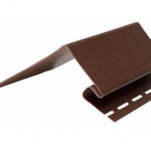 Околооконная планка темно-коричневый цвет