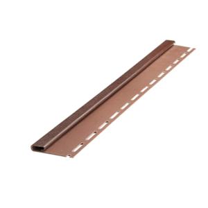 Финишная рейка темно-коричневая